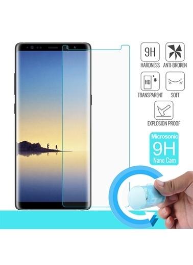 Microsonic Samsung Galaxy Note 8 Nano Cam Ekran Koruyucu Kırılmaz Film Renksiz